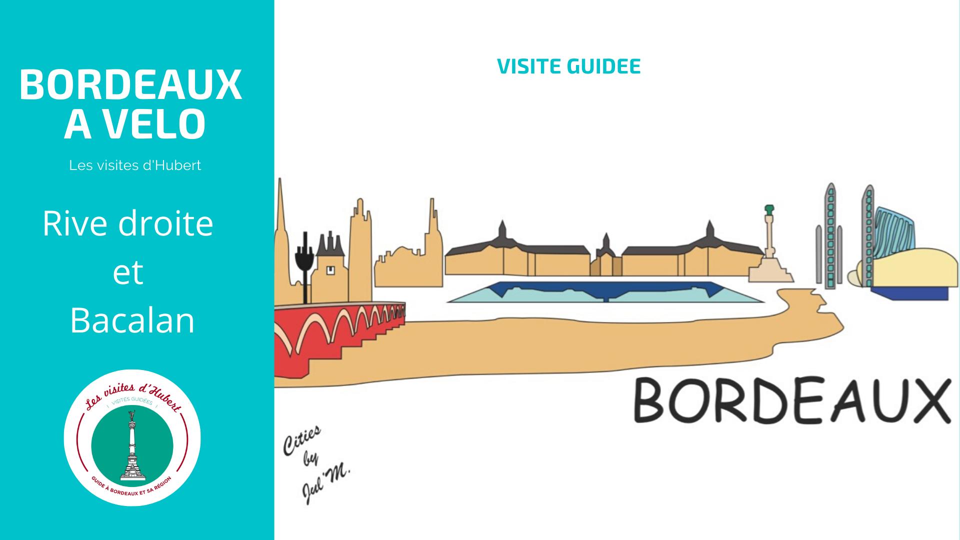 Visite a vélo Bordeaux
